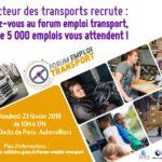5000 emplois à pourvoir au Forum Emploi Transport