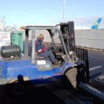 Moussa, agent de fret sur l'aéroport d'Orly