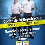 Recrutement de 18 cadets de la République dans le Val-de-Marne