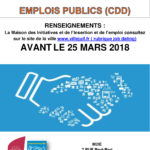 Job dating Mairie de Villejuif (CDD)
