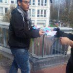 Les jeunes de l'E2C94 sensibilisent les étudiants au don du sang