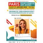 Salon Paris pour l'emploi des jeunes